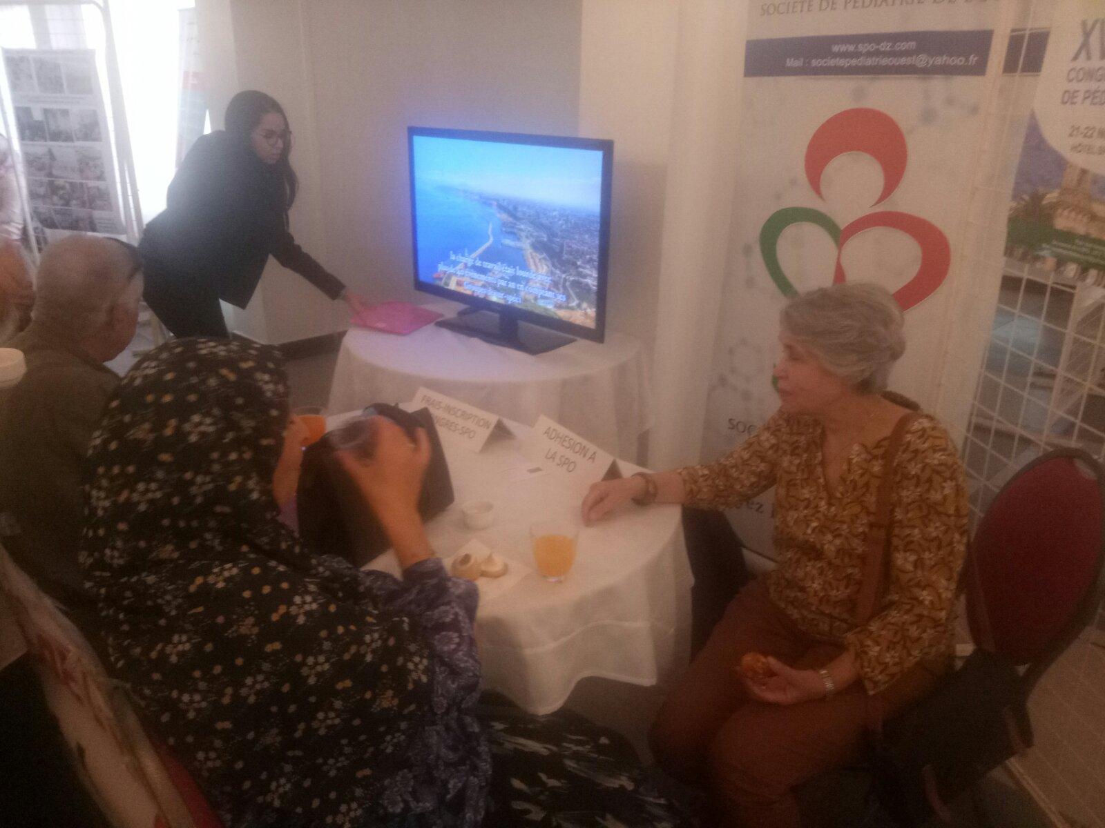 SPO au Congrès de diabétologie Oran 2019