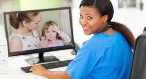 GÈNE RESPIRATOIRE AIGUE CHEZ L'ENFANT Évaluation par Téléconsultation ou téléphone en période COVID